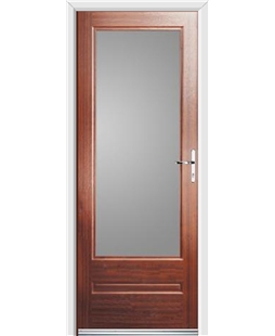 Ultimate Classic Rockdoor in Mahogany with Glazing