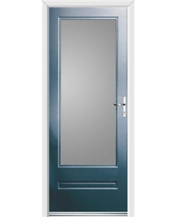 Ultimate Classic Rockdoor in Anthracite Grey with Glazing