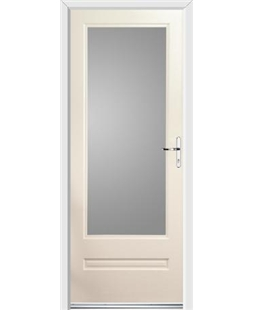 Ultimate Classic Rockdoor in Cream with Glazing