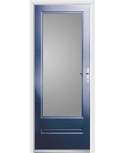 Ultimate Classic Rockdoor in Sapphire Blue with Glazing