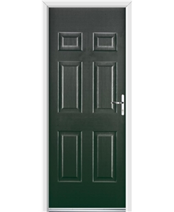Ultimate Colonial Rockdoor in Emerald Green