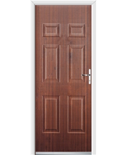 Ultimate Colonial Rockdoor in Mahogany