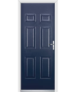 Ultimate Colonial Rockdoor in Sapphire Blue