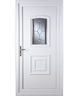 Fareham Bevel Border uPVC High Security Door