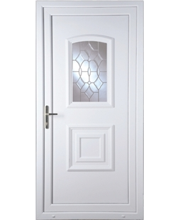 Fareham Clear Crystal uPVC High Security Door