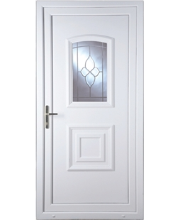 Fareham Crystal Gem uPVC Door