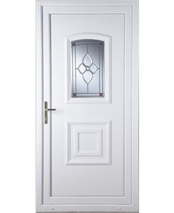 Fareham Crystal Pearl uPVC Door