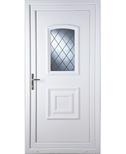 Fareham Diamond Lead uPVC Door