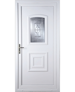 Fareham New Platinum uPVC Door