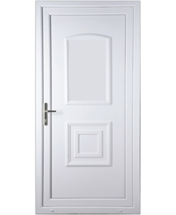 Fareham Solid Upvc High Security Back Door Value Doors Uk