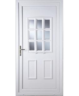 Cottage Bow Clear Glazed uPVC Door