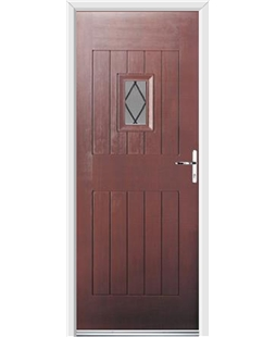 Ultimate Cottage Spy Rockdoor in Rosewood with Diamond Lead