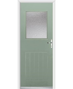Ultimate Cottage View Rockdoor in Chartwell Green with Gluechip Glazing