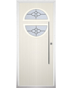 The Xenia Composite Door in Cream with Finesse Glazing