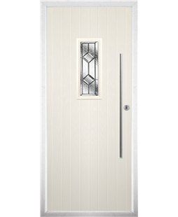 The Zetland Composite Door in Cream with Simplicity
