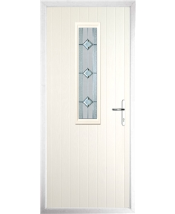 The Sheffield Composite Door in Cream with Simplicity