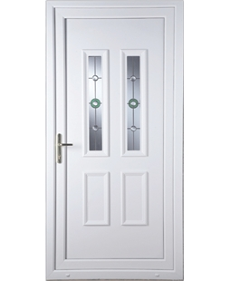 Irvine Golf Bevel uPVC High Security Door