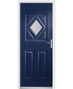 Ultimate Diamond Rockdoor in Sapphire Blue with Glazing