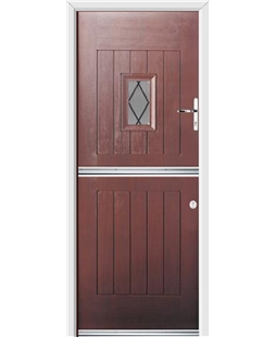 Ultimate Stable Spy Rockdoor in Rosewood with Diamond Lead
