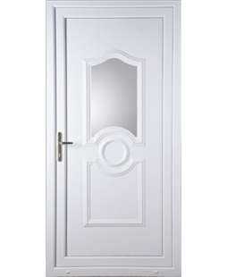 Johnstone Glazed uPVC High Security Door