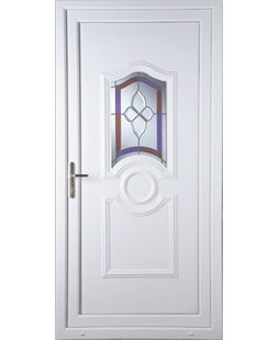 Johnstone Crystal Gem uPVC High Security Door