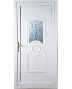 Johnstone Tea Rose uPVC High Security Door