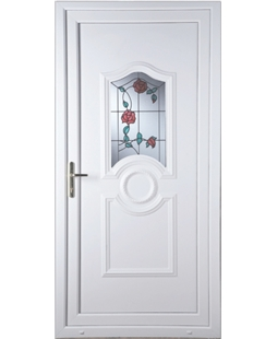 Johnstone Trailing Rose uPVC Door