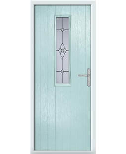 The Sheffield Composite Door in Blue (Duck Egg) with Finesse Glazing