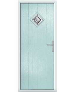 The Reading Composite Door in Blue (Duck Egg) with Simplicity