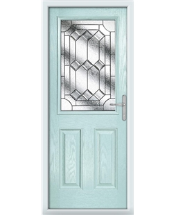 The Farnborough Composite Door in Blue (Duck Egg) with Simplicity