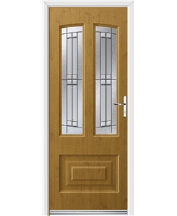 Ultimate Illinois Rockdoor in Irish Oak with Empire