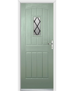 Ultimate English Cottage Rockdoor in Chartwell Green with Diamond Lead