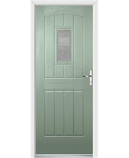 Ultimate English Cottage Rockdoor in Chartwell Green with Gluechip Glazing