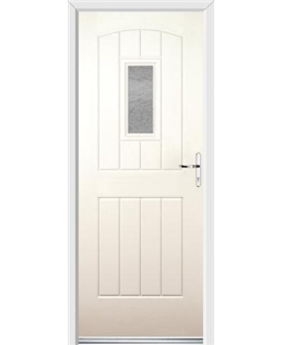 Ultimate English Cottage Rockdoor in Cream with Gluechip Glazing