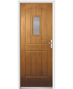 Ultimate English Cottage Rockdoor in Irish Oak with Gluechip Glazing