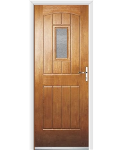 Ultimate English Cottage Rockdoor in Light Oak with Gluechip Glazing