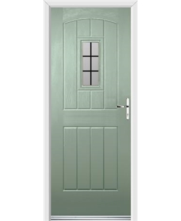 Ultimate English Cottage Rockdoor in Chartwell Green with Square Lead