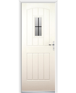 Ultimate English Cottage Rockdoor in Cream with Square Lead