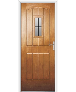 Ultimate English Cottage Rockdoor in Light Oak with Square Lead