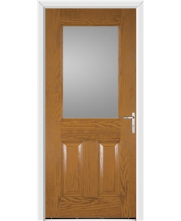 Exeter FD30s Fire Door in Oak