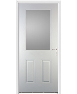 Exeter FD30s Fire Door in White