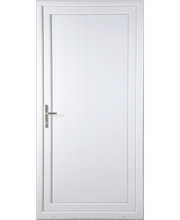 Flat Panel uPVC High Security Door