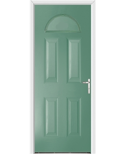 Worcester FD30s Fire Door in Foly Green