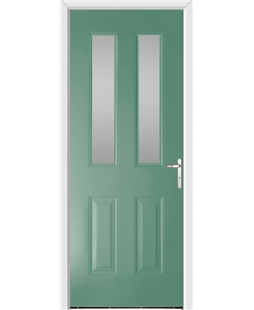 Windsor FD30s Fire Door in Foly Green