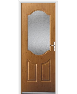 Ultimate Georgia Rockdoor in Irish Oak with Gluechip Glazing