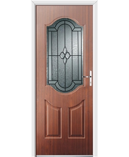 Ultimate Georgia Rockdoor in Rosewood with Northern Star