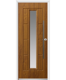 Vermont with Bar Handle Rockdoor