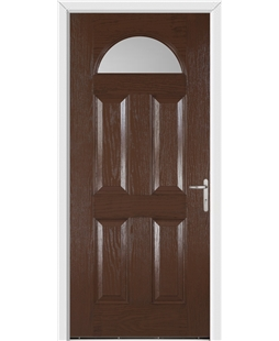 Gloucester FD30s Fire Door in Rosewood