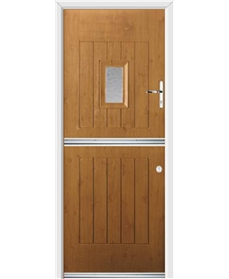 Ultimate Stable Spy Rockdoor in Irish Oak with Gluechip Glazing