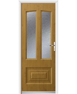 Ultimate Illinois Rockdoor in Irish Oak with Gluechip